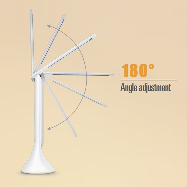 Touch Table Lamp with Alarm Clock  3