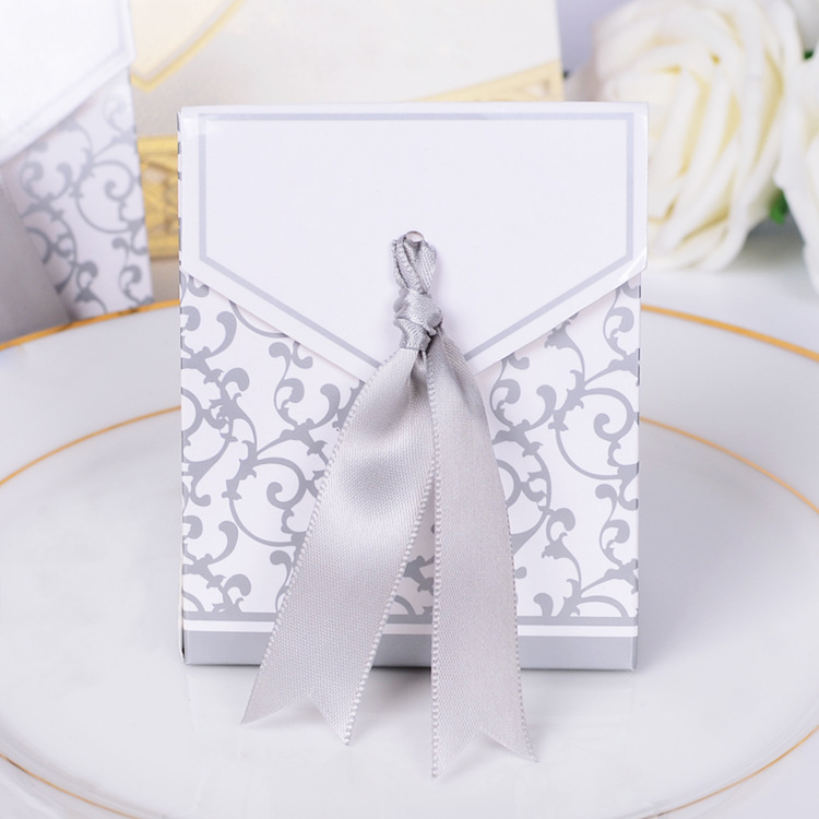 Wedding Favour Favor Sweet Cake Gift Candy Boxes Bags Anniversary