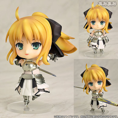 10cm Fate stay night saber Nendoroid 77# action figure PVC toys collection doll anime cartoon model ( China Version )