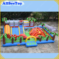 Giant Inflatable Trampoline Inflatable Dinosaur Bouncy Castle for Kids Commercial Quality Inflatable Bouncer for Rental Business