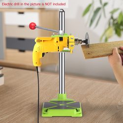 Electric Drill Stand table  for Drilling  drill stand rack for hand drill for Drills Workbench Clamp Collet 43mm 360 degrees