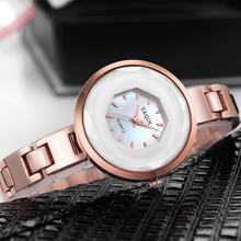 2018 Fashion Ladies Quartz Watches Top Brand Luxury Bracelet Business Women's Watch Waterproof Diamond Gold Watch reloj mujer