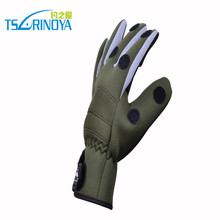 Non slip waterproof Insulation wear resisting breathable Refers to all three font b gloves b font