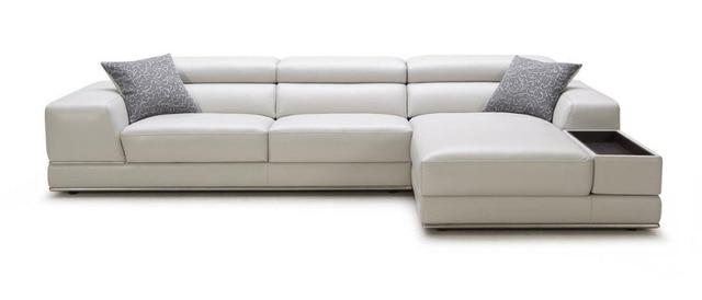 Moderno divani angolari per divani angolari in pelle con sezionale ...