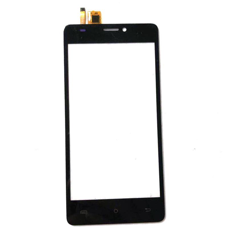 High Quality For BQ-5005L Intense BQ 5005L Touch Screen Digitizer Touch Panel Black Color With Tape