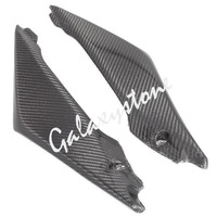 Carbon Fiber Tank Side Covers Panel Fairing for Suzuki GSXR1000 2005 2006 K5 05 06 Motorcycle Side Lining
