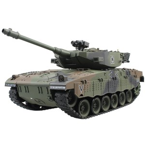 RC Tank Israel Merkava Tactical Vehicle Main Battle Military Main Battle Tank Model Sound Recoil Electronic Hobby Toys Gifts
