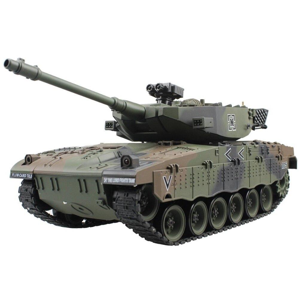 RC Tank israël Merkava véhicule tactique bataille principale militaire Main bataille réservoir modèle son recul électronique passe-temps jouets cadeaux