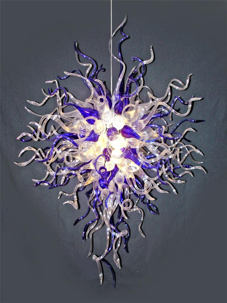 Christmas Gift Colorful Blown Glass Chandelier