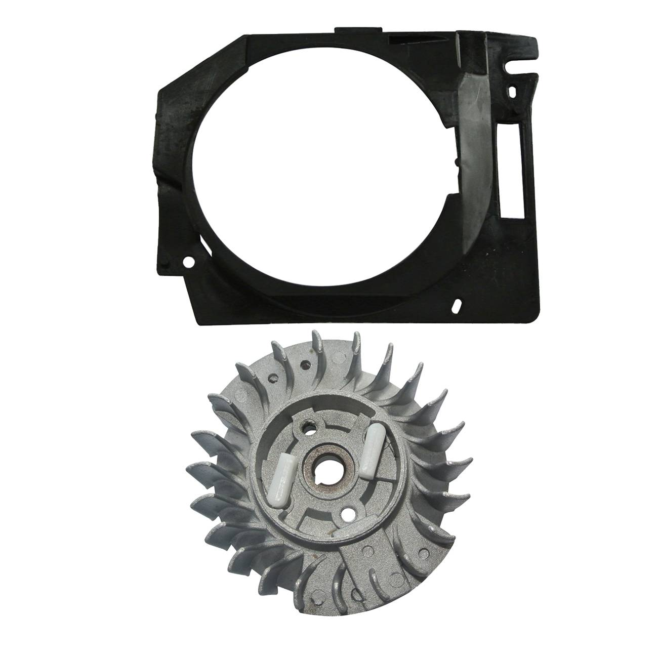 Flywheel Engine Part For Chinese Chainsaw 4500 5200 5800 With Cover New
