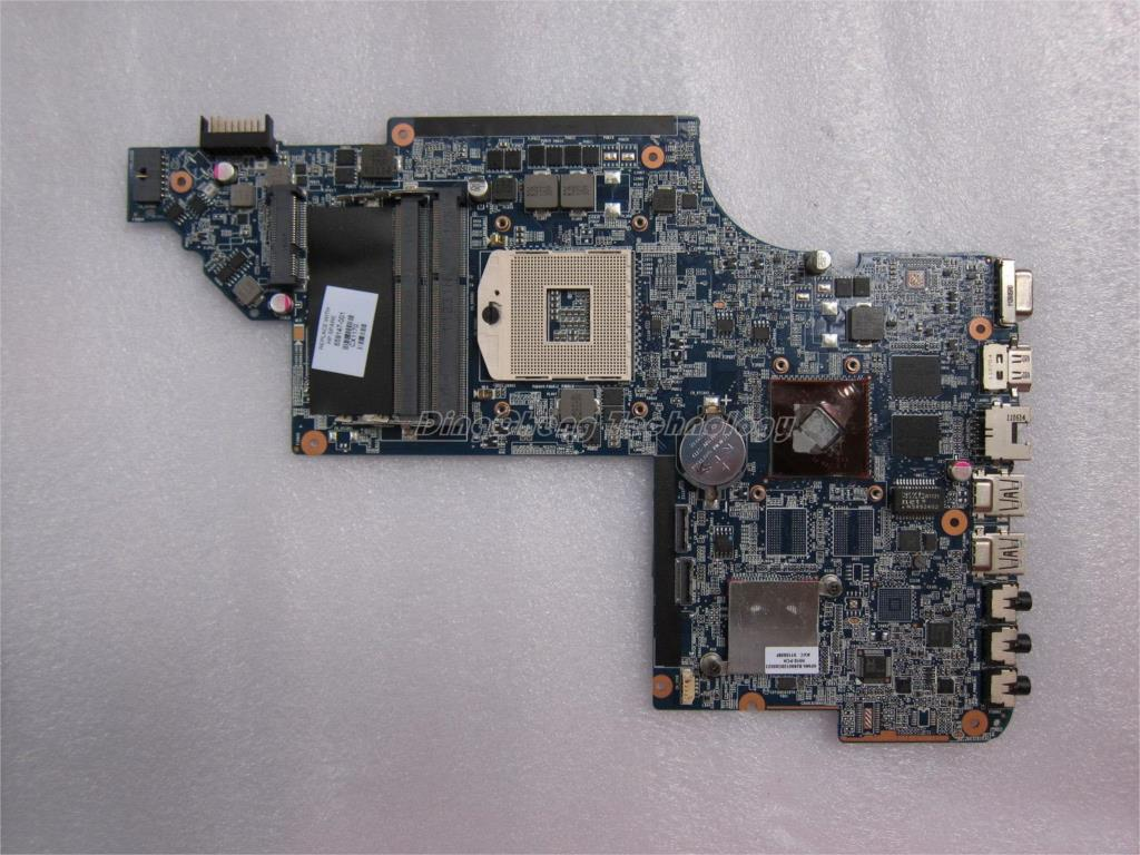 For hp dv6-6000 659147-001 original laptop Motherboard for intel cpu with HM65 6940/1G non-integrated graphics 100% fully tested
