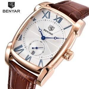 Image 1 - BENYAR Mens Watches Top Brand Luxury Gold Military Man Wristwatch Sport Business Male Clock Waterproof Relogio Masculino 5114