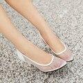 Каблуки Zapatos Mujer Tacon Большой Плюс Size34-51 Дамы Женская Обувь На Высоких Каблуках 2016 Насосы Sapato Feminino Стиль Chaussure Femme 201