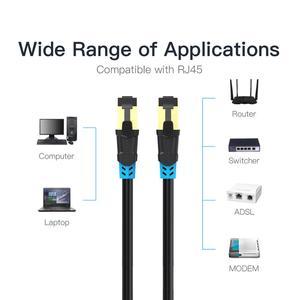 Image 5 - Кабель Ethernet Vention CAT6, экранированная витая пара, сетевой кабель Ethernet, CAT 6, RJ45, Lan, коммутационный шнур для компьютерного маршрутизатора