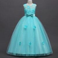 New 2015 Summer Flower Girl Dress Baby Princess Dresses For Girls Wedding Party Vestidos Infantis Kid