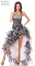 dress free shipping new 2014 vestidos de festa brief special occasion dresses crystal ruffles sexy party prom