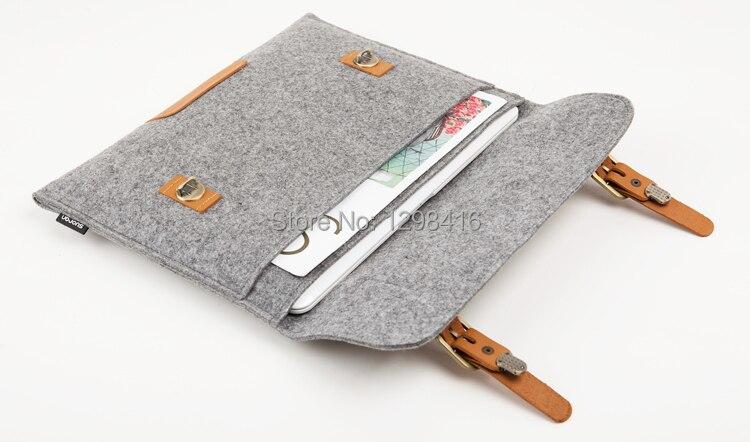 Նոր MacBook բարձրորակ բուրդ Felt Laptop թև - Նոթբուքի պարագաներ - Լուսանկար 2