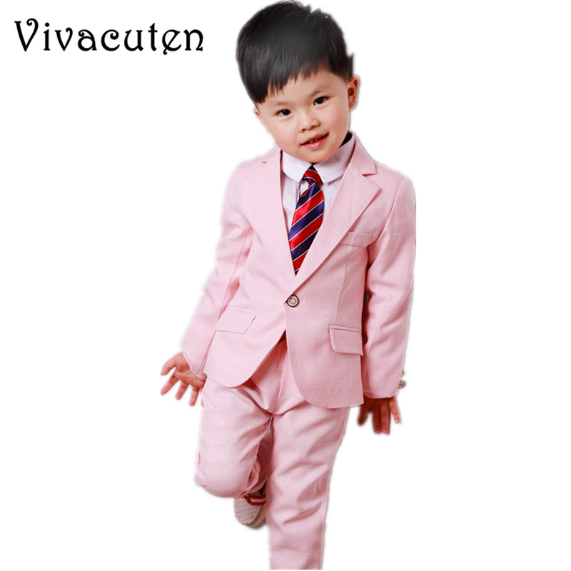 Fashion Boys Cotton Formal Suits For Weddings Kids Blazer Shirt Pants 3pcs Set Gentle Children Preppy Party Suit Clothes F131 brand fashion boy wedding suit gentle baby boys vest shirt pants formal party suit children clothing set formal outfits h101
