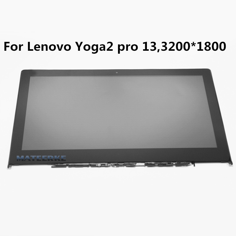 New for Lenovo Ideapad Yoga 2 Pro Yoga2 Pro 13 13.3 lcd assembly screen with touch panel digitizer LTN133YL01-L01 with Bezel image