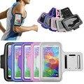Durable correr correr deporte gimnasio correa de brazo cubierta de la caja del soporte para samsung galaxy s5 s4 s3 teléfono móvil bolsa caso