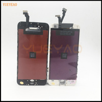 YUEYAO Grade AAA No Dead Pixel For Apple Iphone 6 LCD Display With Touch Screen Assembly