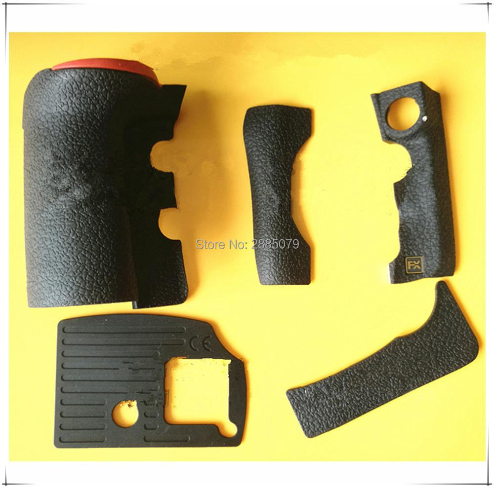 NEW Original A Set Of Body Rubber Front cover and Back cover Rubber For <font><b>Nikon</b></font> <font><b>D810</b></font> Repair Spare <font><b>Parts</b></font> image