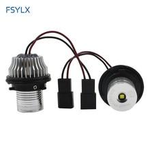 wholesales LED marker angel eyes bulb for E87 E39 E60 E61 E63 E64 E65 E66 E53 5W aluminum white 5set/lot  free shipping !