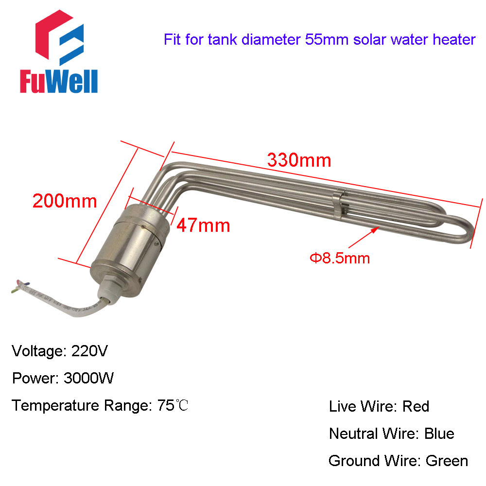 Solar Water Heater Electric Heating Element