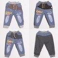 2015 nueva primavera casual salvajes del bebé niños de los pantalones de marca pantalones de los muchachos de las muchachas del algodón pantalones de los niños de ropa