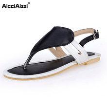 Größe 32-47 Schuhe Frau Berühmte Marke Flip-Flops Damen Klippzehe Gladiator-sandalen Frauen Branded Pantoffeln Alias Schuhe PA00360