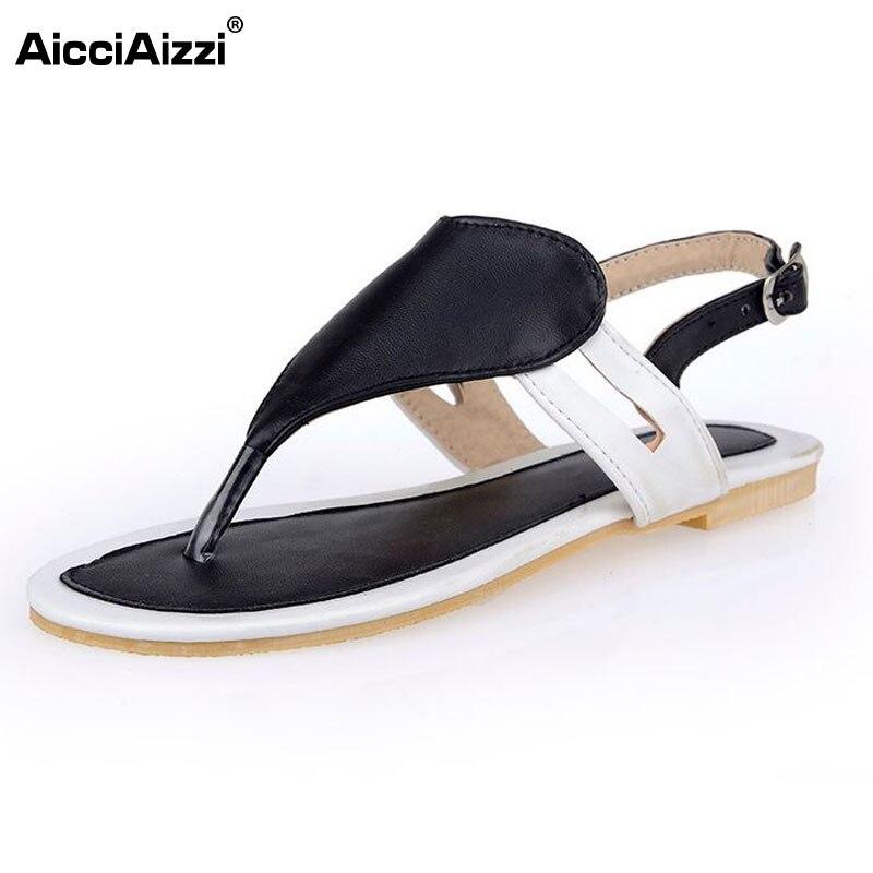 516fe8265 Tamanho 32-47 Sapatos Mulher Famosa Marca Flip Flops Ladies Clipe Toe  Sandálias Gladiador Das Mulheres Sandálias Sapatos Chinelos De Marca PA00360