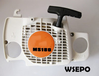 Top Quality! Pull Recoil Starter Assy for MS180 Small Gasoline 02 Stroke Chainsaw/Wood Spliter/Log Cutting Machine