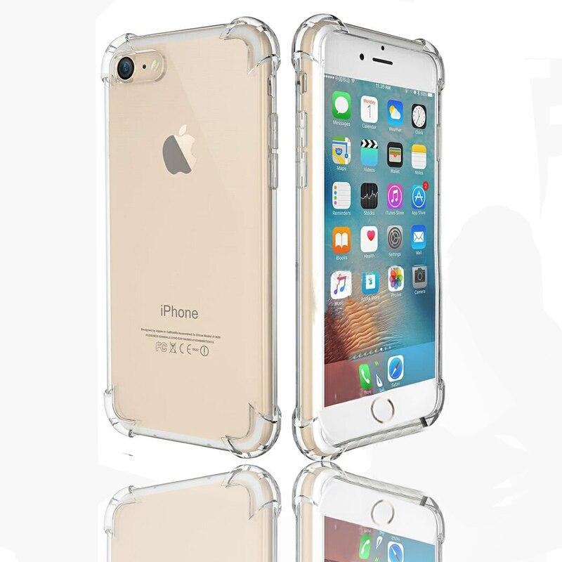 Caja del teléfono del silicio para Apple iphone6 iphone 6 s 6 s 4.7/6 s 6 más 6