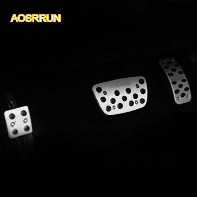 AOSRRUN Special punch free gas pedal interior modified suitable for <font><b>Lexus</b></font> ES200 ES250 ES300H RX270 <font><b>RX350</b></font> CT200H Car <font><b>Accessories</b></font> image