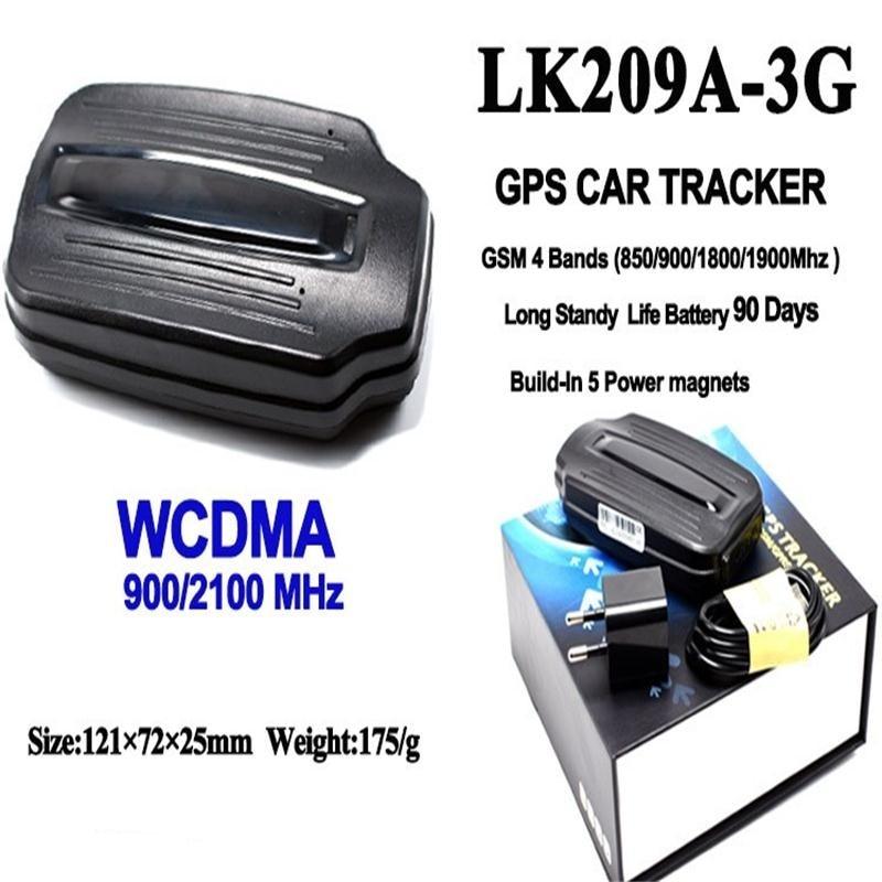 3G LK209A Bilfordon GPS-lokaliserare GPS-spårning för lastbilmagnet - Bilelektronik