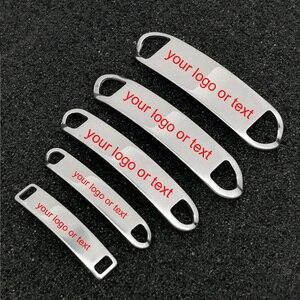 Image 1 - Custom Sneaker Schoen Lace Charms Gymnastiek Team Gift Gratis Graveren