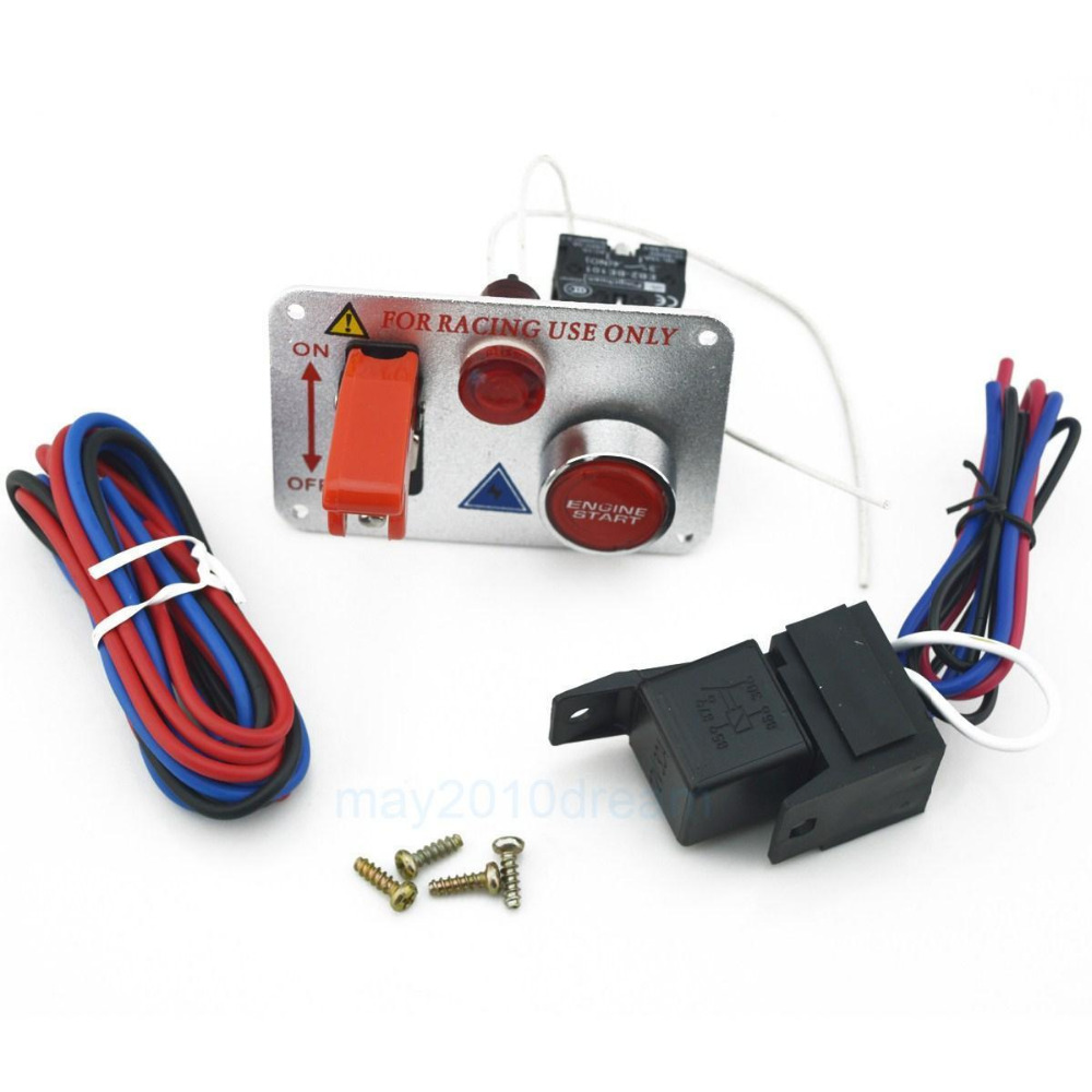Lossmann Dc12v Flip Up Start Ignition Three Combination Switch Panel Wiring A And Accessories For Racing Sport In Car Switches Relays From Automobiles