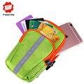 Tigernu Multi-Funcional Saco do telefone Caso Carteira Titular Arm Band Bag Para Telefone homens e mulheres saco de braço para iphone 4 4s 5 5s 6 6 s