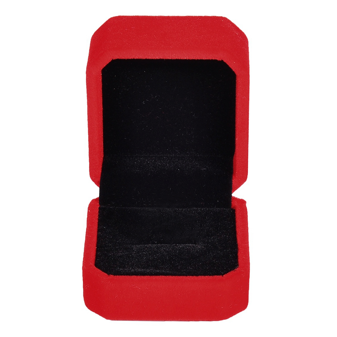 Rings Display Box Storage Soft Velvet Tray Case Holder Stand Display Storage Box Show Jewelry Organizers Ring Box Red