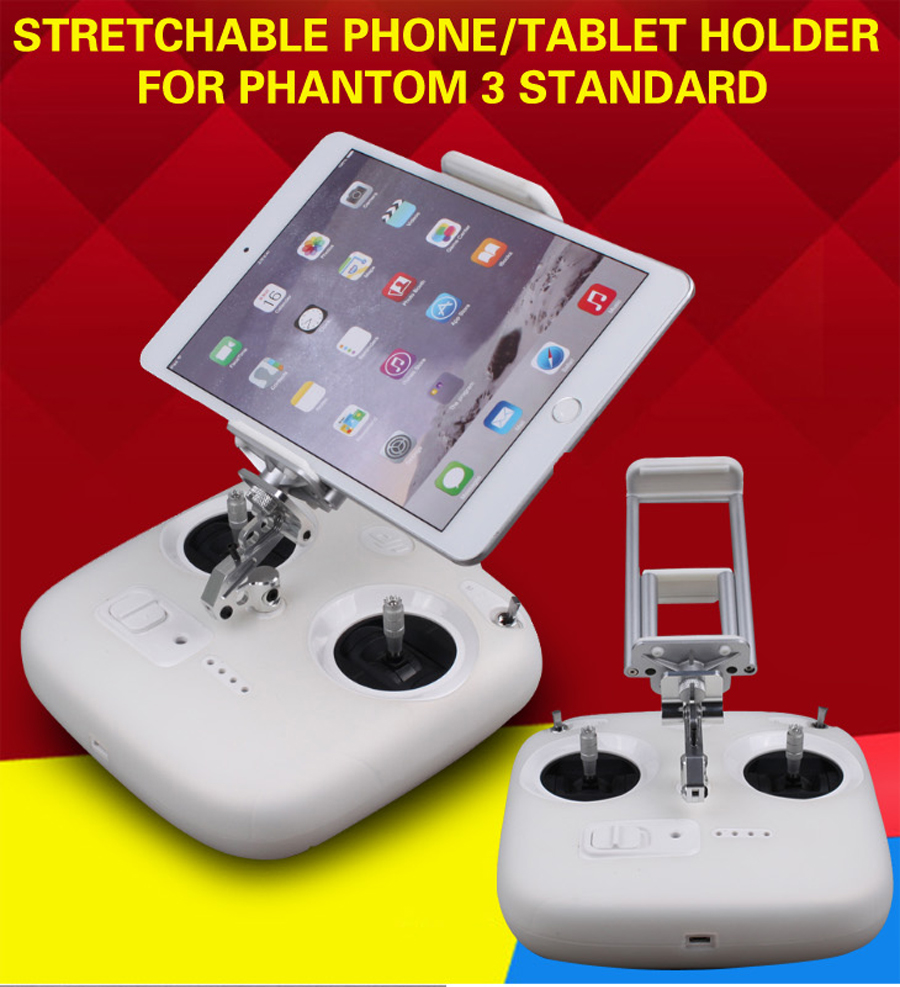 Remote Control Smart Phone Support font b Holder b font for DJI Phantom 3S font b