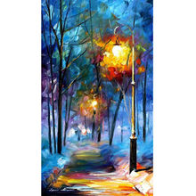 Wall art oil paintings landscape living room wall decor painting on canvas modern abstract pictures