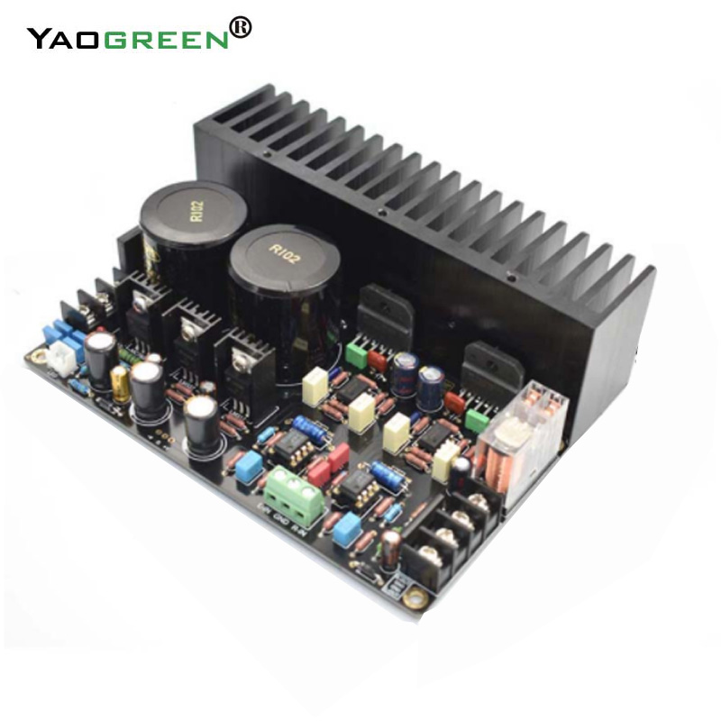 LM3886 Hifi Power Amplifier Audio Board DC SERVO 5534 Independent op amp Amplifier finished board 68W*2 E5-001 стоимость