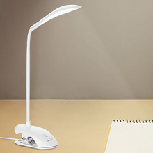 Creative New Exotic Lights With Touch 3 Modes LED Desk Lamp Clip Reading Lamp For Desk Reading