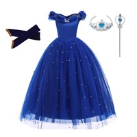 Dress for girls Sofia Cinderella princess Dresses Fancy Girl lace christmas wears kids clothing Girls halloween clothes Cosplay