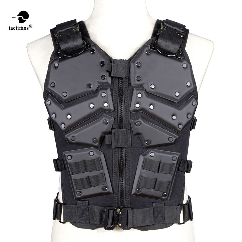 Tactical Vest TF3 Airsoft Protective Tacticval Waistcoat Waist Adjusting Molly System CS Paintball War Game Hunting