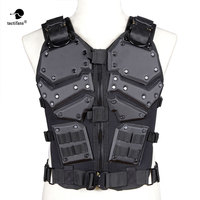 Tactical Vest TF3 Airsoft Protective Tacticval Waistcoat Waist Adjusting Molly System CS Paintball War Game Hunting Vest