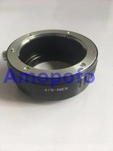 Amopofo 4/3-nex adaptador, para olympus quatro terços lente para sony e nex-a7, A7 II, A7r, A5100, A7s, A3000, A5000, A6000