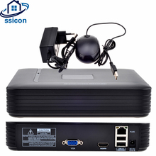 SSICON H.264 4Ch 8Ch 2MP Mini Security CCTV NVR XMEYE APP Network Video Recorder For 1080P IP Camera