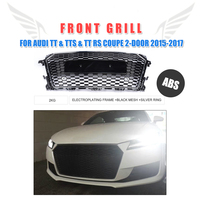 ABS Front Bumper Mesh Grill Honeycomb Grille For Audi TT MK3 Typ 8S TTS TT RS