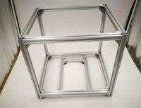 Hypercube 3D Printer Extrusion Metal Frame & Hardware Kit HyperCube 3D Printer/CNC DIY mechanical kit